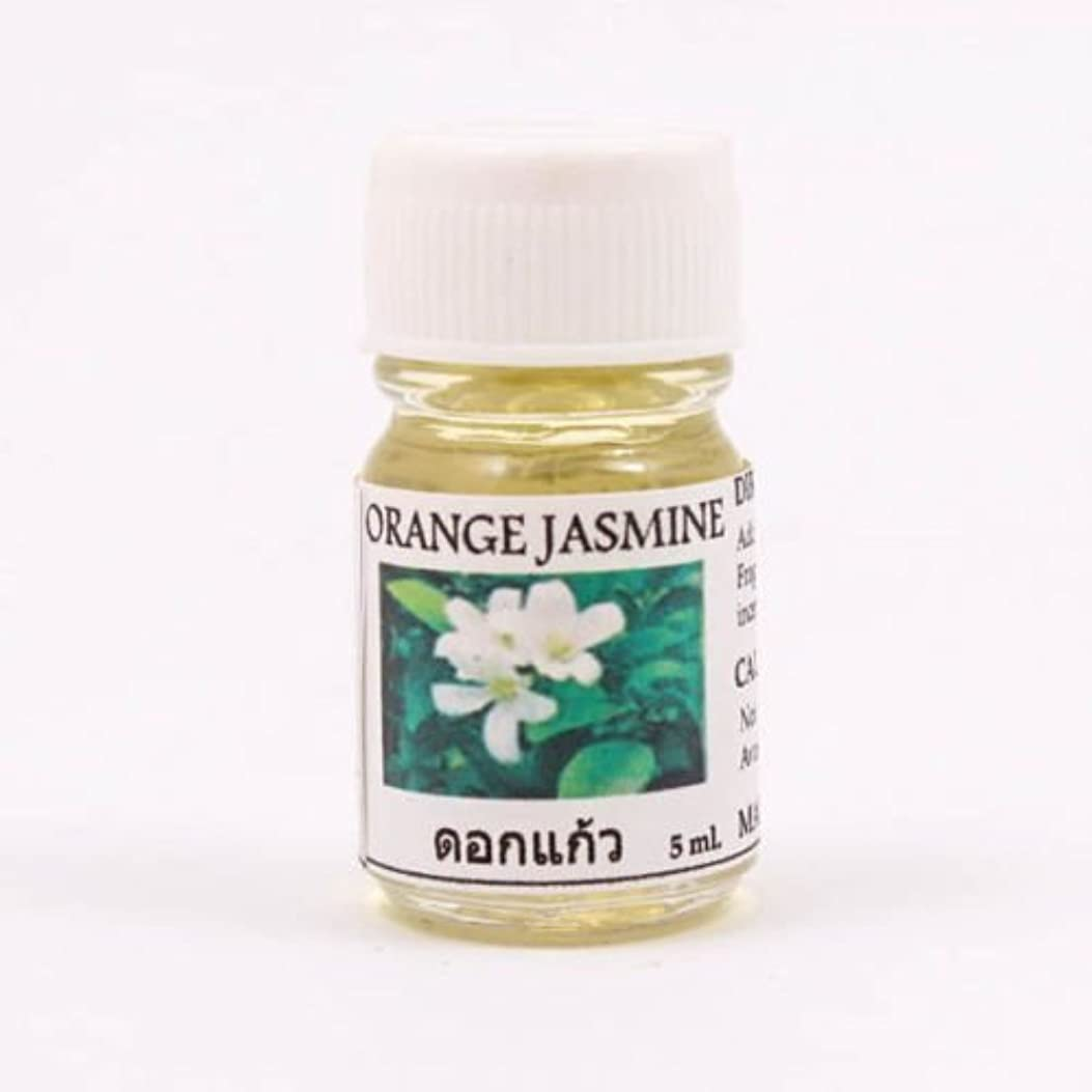 6X Orange Jasmine Aroma Fragrance Essential Oil 5ML. (cc) Diffuser Burner
