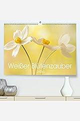 Weisser Bluetenzauber(Premium, hochwertiger DIN A2 Wandkalender 2020, Kunstdruck in Hochglanz): Zarte weisse Bluetenfotos verzaubern uns das ganze Jahr (Monatskalender, 14 Seiten ) カレンダー