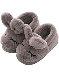 室内履きシューズ ボアスリッパ ベビー キッズ あったか 冬 子供用 もこもこ フワフワ 厚め 柔らかい ホーム靴 防寒対策 暖かい 洗える ぽかぽか 便利 床に傷つけない