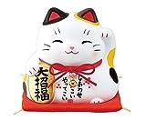 錦彩大福招き猫(大招福・大)(貯金箱) AM-Y7384