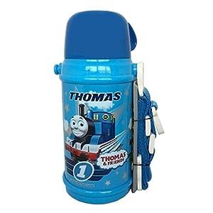 オーエスケー 水筒 きかんしゃトーマス(№2) ステンレスボトル(コップ付き) 約600ml SB-600C