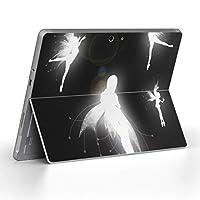 Surface go 専用スキンシール サーフェス go ノートブック ノートパソコン カバー ケース フィルム ステッカー アクセサリー 保護 クール 妖精 人物 006674