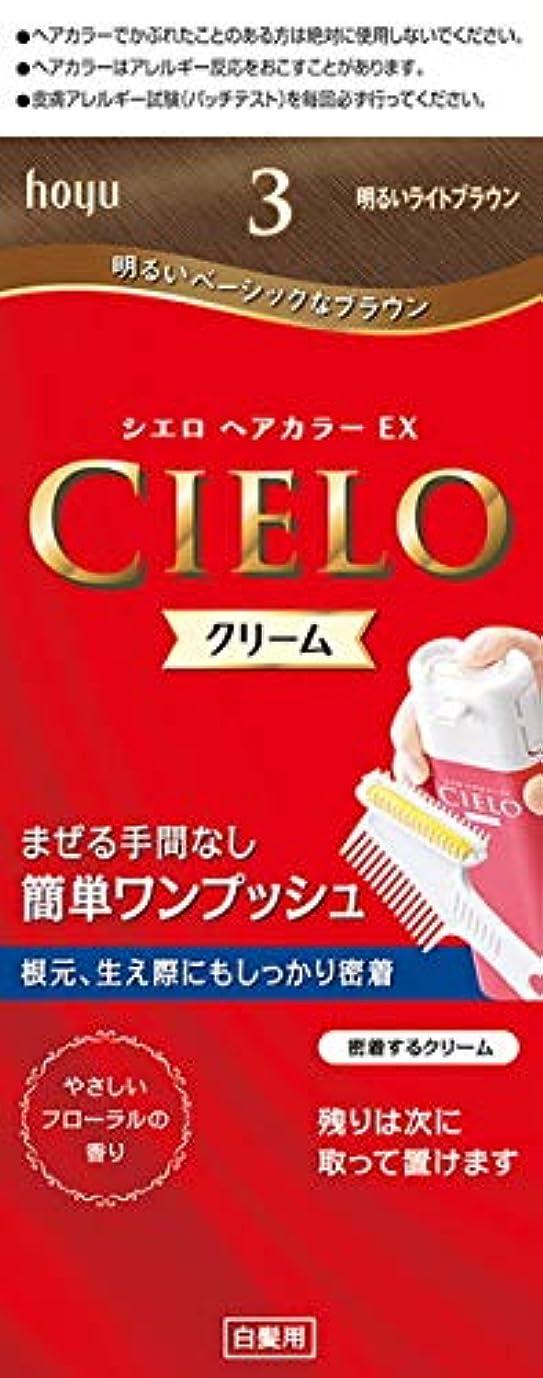 似ているドル計画シエロ ヘアカラー EX クリーム 3 明るいライトブラウン × 3個セット