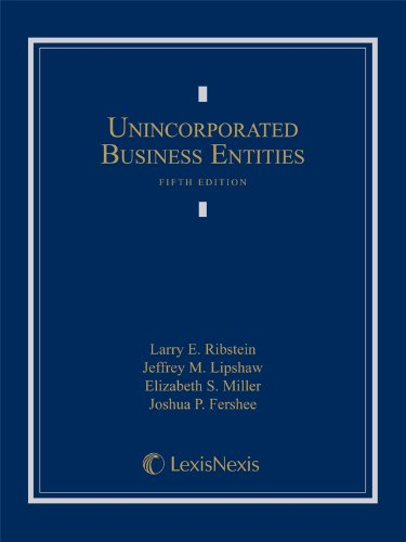 Download Unincorporated Business Entities 0769866476