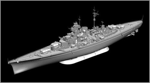 1/350 ドイツ海軍戦艦 ビスマルク