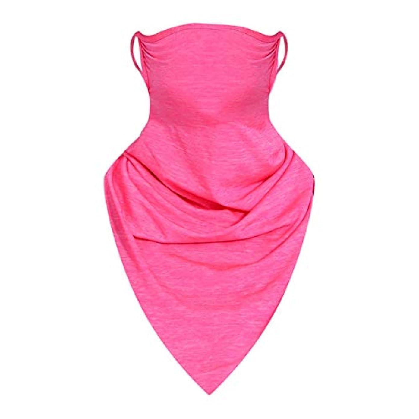 保持加速度欠乏CZ016ファッション屋外フェイスマスクバイクサイクリングマスク防風冬首ガードスカーフ男性女性用UV保護マスク-ローズレッド