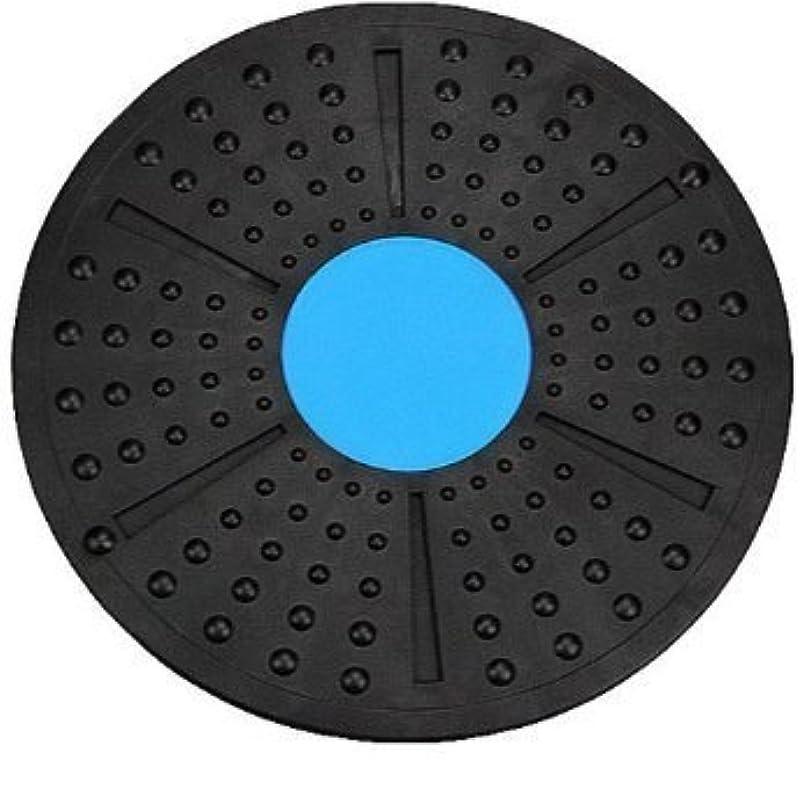 理論印象無限大体幹トレーニング ダイエット エクササイズ メディカルサポート バランスボード 2色 これ1つで全身運動 (青×黒)