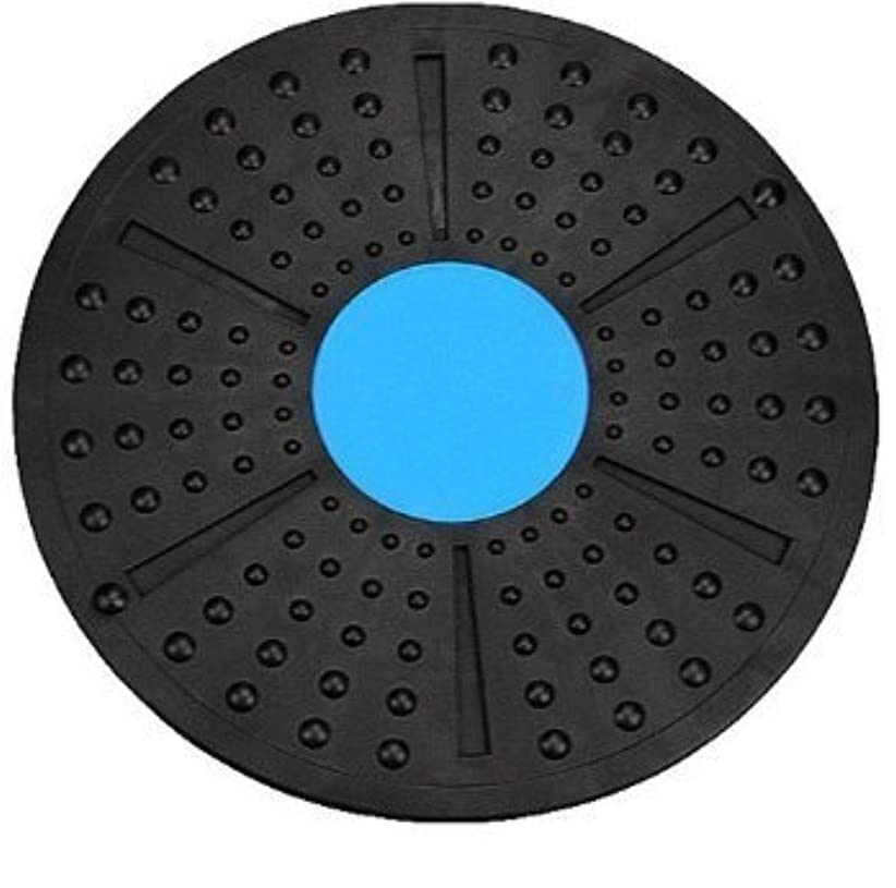起こりやすいボット意味のある体幹トレーニング ダイエット エクササイズ メディカルサポート バランスボード 2色 これ1つで全身運動 (青×黒)