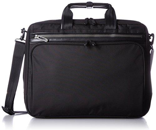 [エースジーン] ace.GENE 軽量ビジネスバッグ フレックスライト フィット 41cm B4サイズ 1気室 PC収納 54558 01 (ブラック)