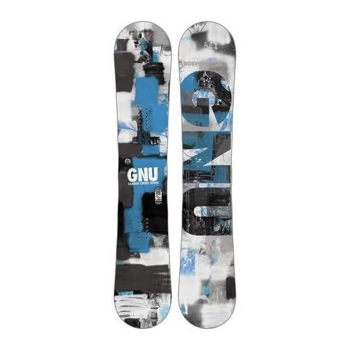 Gnu Carbon Credit BTX Snowboard - Wide Blue 162cm [並行輸入品]