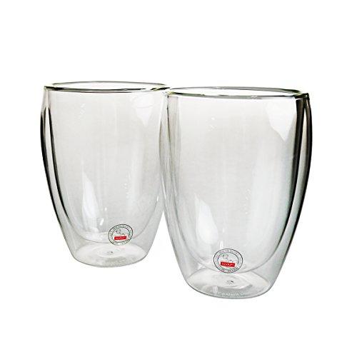 ボダム Pavina ダブルウォール保温グラス 0.35L ペア 4559-10【並行輸入品】