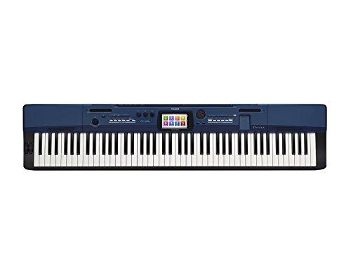 カシオ 電子ピアノ プリヴィア タッチパネル付きカラー液晶搭載 ブルー PX-560MBE