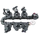 Qty. 7 x 1 inch (25mm) Irrigation Manifold Solenoid 24V AC 100 LPM-Flow Control & Override