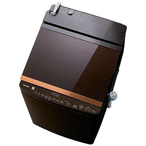 東芝 10.0kg 洗濯乾燥機 グレインブラウンTOSHIBA AW-10SV6-T
