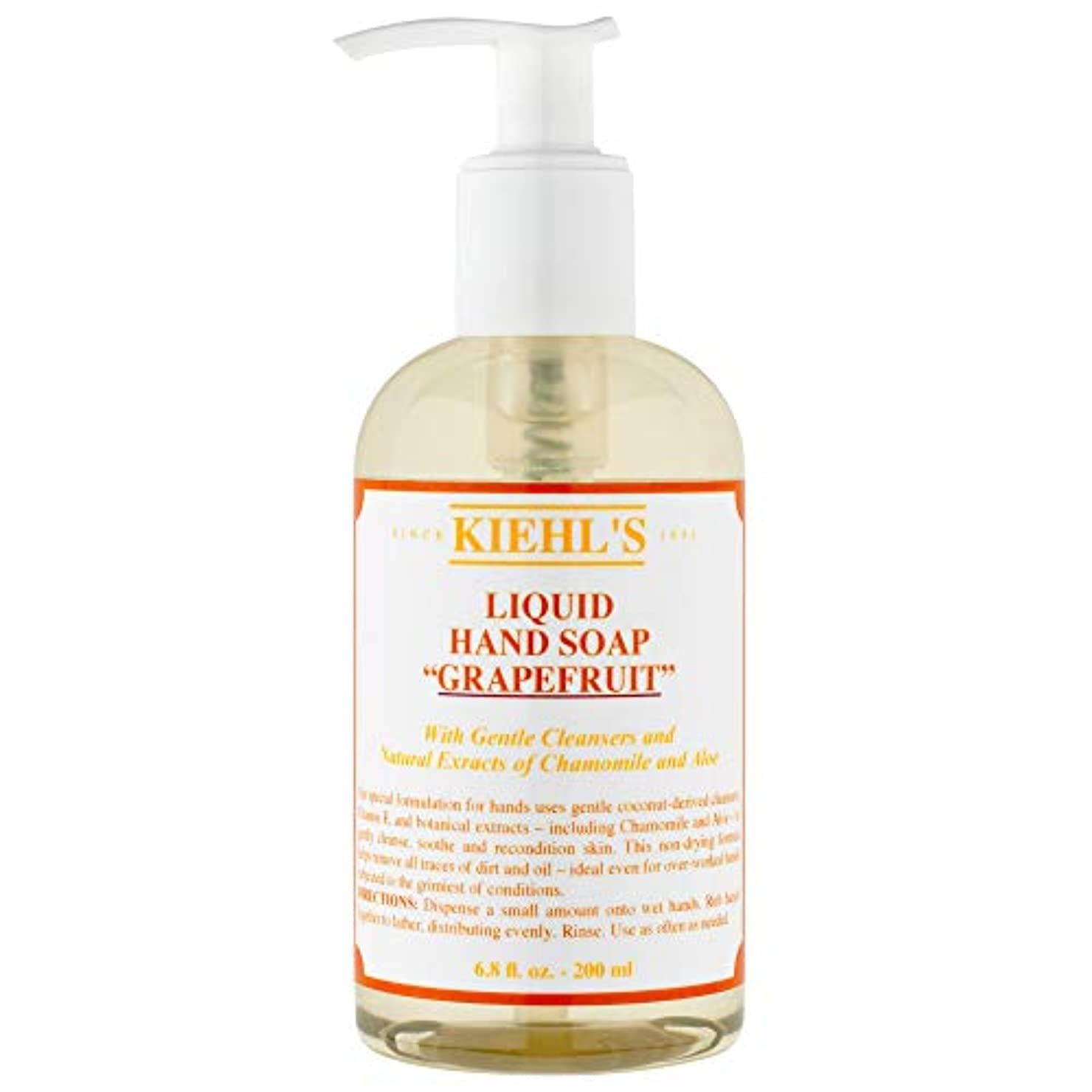 密接にセンブランス疑問に思う[Kiehl's ] キールズのハンドクレンザー(ポンプ)250ミリリットル - Kiehl's Hand Cleanser (Pump) 250ml [並行輸入品]