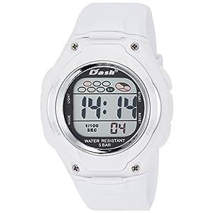 [アリアス]ALIAS 腕時計 デジタル DASH 5気圧防水 ウレタンベルト ホワイト ADWW16033DJ2 メンズ