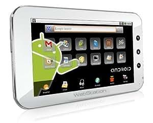 世界初 アンドロイド搭載 7インチ インターネットタブレット (パールホワイト) - 新バージョン