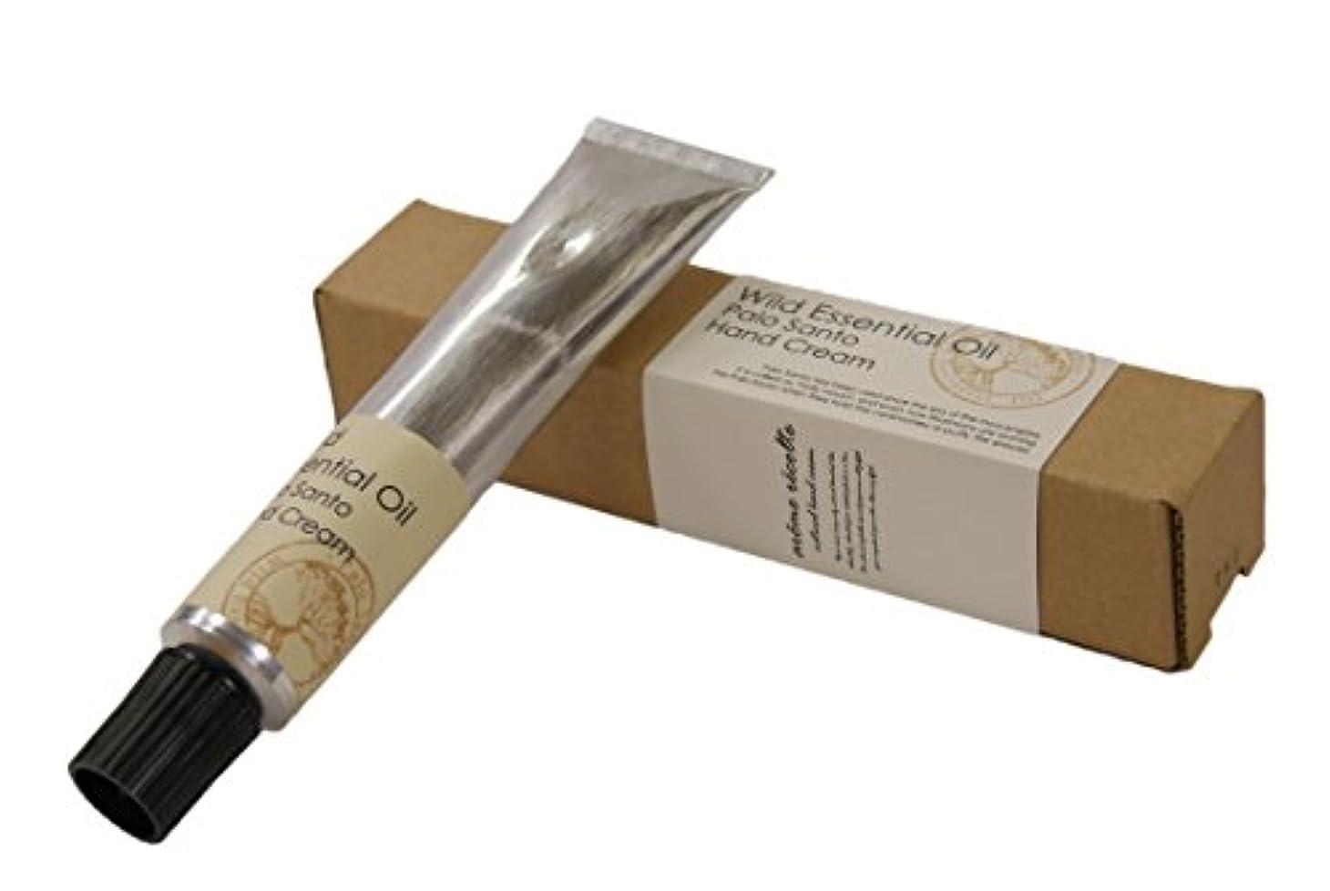 浅いホーム私たちアロマレコルト ハンドクリーム パロサント 【Palo Santo】 ワイルド エッセンシャルオイル wild essential oil hand cream arome recolte