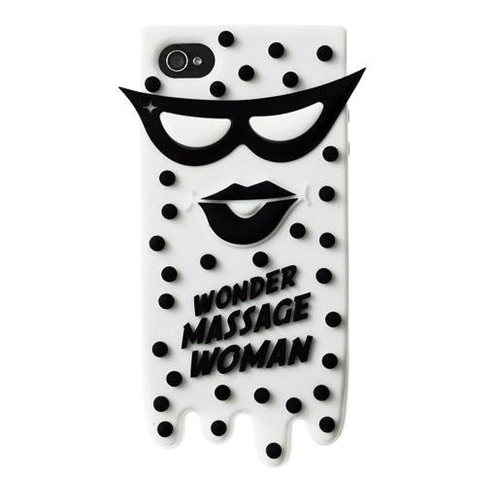 送った落ち着いたドメインCandies キャンディーズ MASSAGE WOMAN for iPhone4/4s / CNDS004A5 WHITE