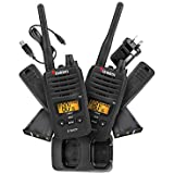 Uniden UH820-2 Twin Pack 2 Watt Handheld CB UHF Radio Pack Master Scan