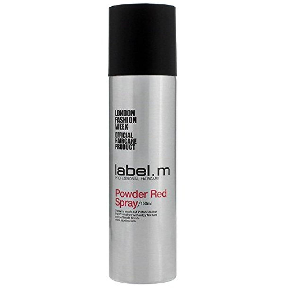 国際外国人罹患率Label.M Professional Haircare ラベルMパウダーレッドスプレー5オズ 5オンス