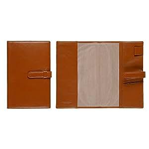 [牛本革]ジブン手帳専用 A5変型手帳カバー ベルト付き (ミーリングレザー) Business Leather Factory (キャメルブラウン)