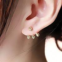 ドラゴンの爪ピアス 龍の爪タイプ 2個セット両耳用 耳飾り メンズ レディース ゴールド Gold プレゼント・贈り物にも