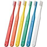 歯科用 タフト12 H 25本 ハード【歯ブラシ】【かため】矯正患者さん向け _ イエロー
