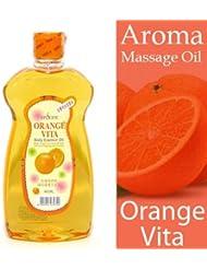 アロマ マッサージオイル オレンジ 465ml 甘いフルーティーな香り■ サロン仕様?業務用アロママッサージオイル