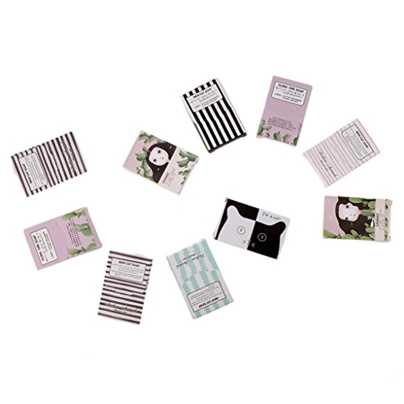 カフェテリア継続中対人キャンプアウトドアのための150枚の旅行紙の石鹸シート手洗い石鹸フレーク