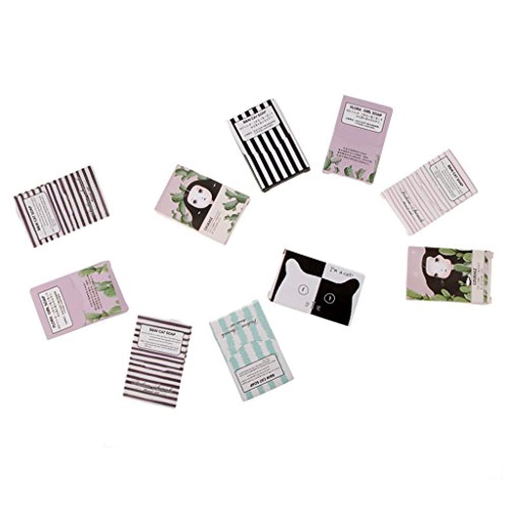 早く適合するピクニックキャンプアウトドアのための150枚の旅行紙の石鹸シート手洗い石鹸フレーク