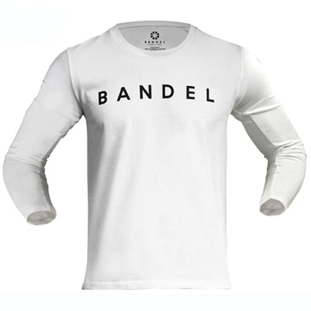 マークダウン状況嫌悪BANDEL ハイネックロングTシャツ ホワイト L