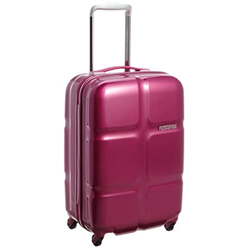 [アメリカンツーリスター] AmericanTourister Cube POP / キューブポップ スピナー55 (55cm/36L/2.7Kg) (スーツケース・キャリーバッグ・機内持込・TSAロック・大容量・軽量・ファスナー・保証付き) S46*80001 80 (フーシャ)