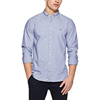 Tommy Hilfiger Men's Heather Cotton Oxford Shirt