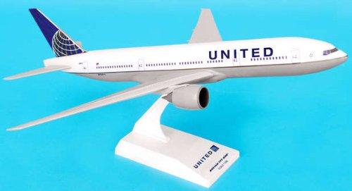 1: 200 スカイマークス ユナイテッド 航空 ボーイング 777-200 Continental Merger Colors (並行輸入)