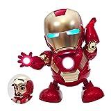アクションフィギュアヒーローシリーズタイタンヒーローパワーFXトニー・スタークのおもちゃ、ダンスアイアンマン玩具柔軟マーベル玩具フラッシュ置物のギフト子供のための7.5インチ