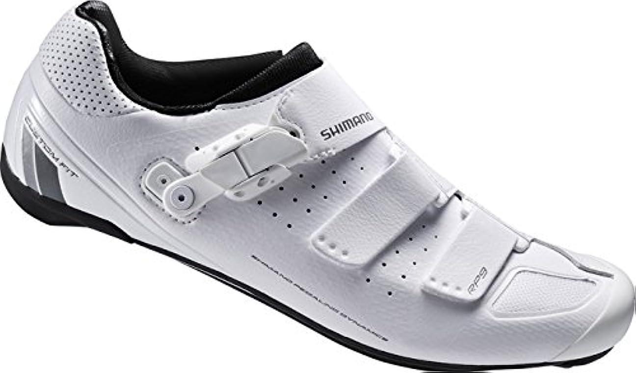 雄大な染料理論[シマノ] ビンディングシューズ SH-RP900MWE ホワイト 41(25.8cm)?48(30.5cm) メンズ SPD 靴