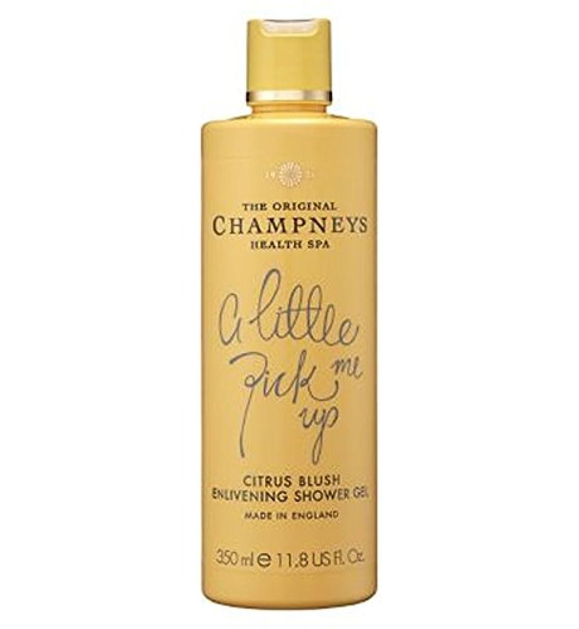 財団和らげる第Champneys Citrus Blush Enlivening Shower Gel 350ml - チャンプニーズシトラス赤面盛り上げシャワージェル350ミリリットル (Champneys) [並行輸入品]