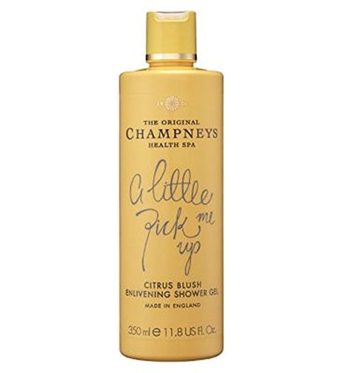 一時解雇する長老ベルベットChampneys Citrus Blush Enlivening Shower Gel 350ml - チャンプニーズシトラス赤面盛り上げシャワージェル350ミリリットル (Champneys) [並行輸入品]