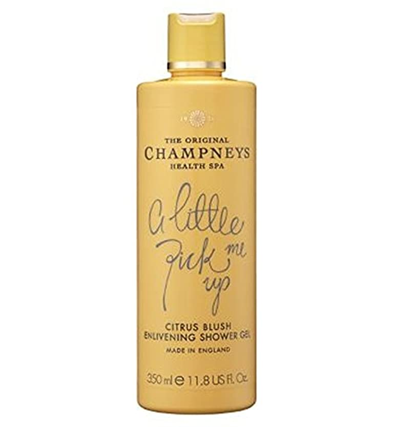 厳しい出血ジャーナルChampneys Citrus Blush Enlivening Shower Gel 350ml - チャンプニーズシトラス赤面盛り上げシャワージェル350ミリリットル (Champneys) [並行輸入品]