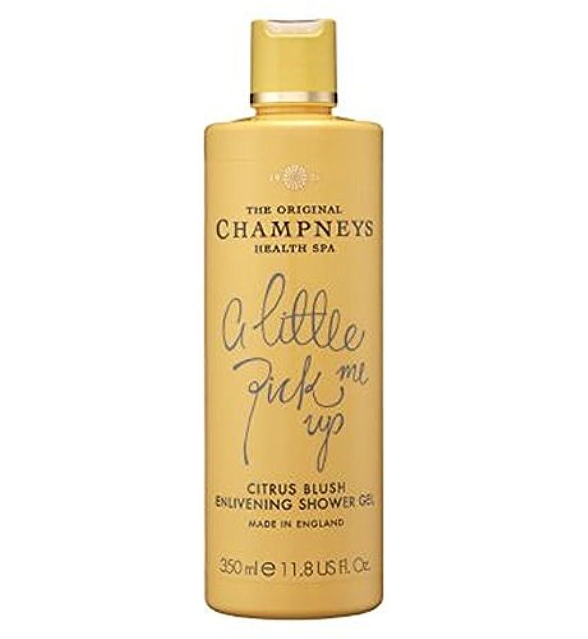 外出キャンバス半島Champneys Citrus Blush Enlivening Shower Gel 350ml - チャンプニーズシトラス赤面盛り上げシャワージェル350ミリリットル (Champneys) [並行輸入品]