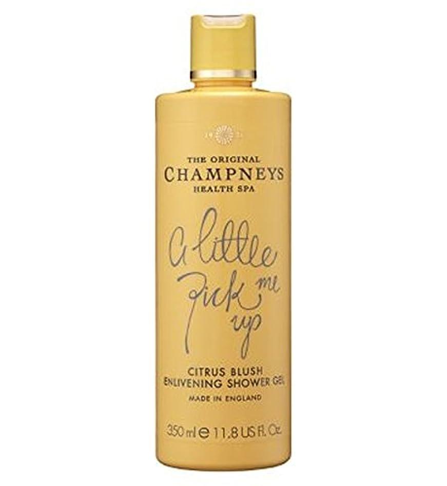 同一性かび臭い注釈Champneys Citrus Blush Enlivening Shower Gel 350ml - チャンプニーズシトラス赤面盛り上げシャワージェル350ミリリットル (Champneys) [並行輸入品]