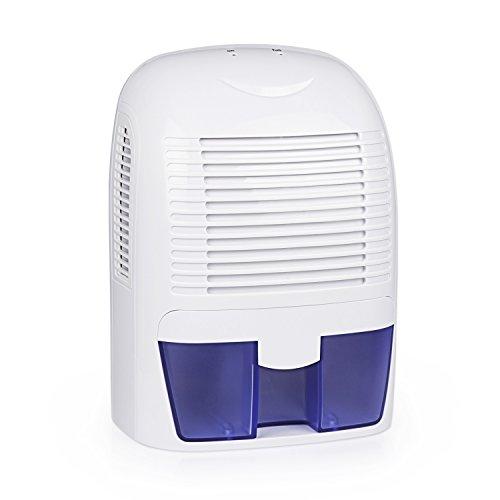 Aidodo 除湿機 衣類乾燥除湿機 1500ml コンパクト 除湿器 クローゼット 自動オフ機能付き 空気浄化機