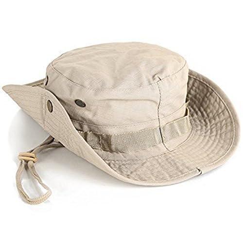 (デマ―クト)De.Markt ジャングルハット マルチ カモフラージュサ カム ブーニーハット サファリハット 男女兼用 バゲー 装備 迷彩 帽子 サイズ調整可 ス ノボーに使う 軍服