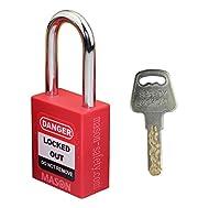 Masonロックアウトタグアウト異なる印安全ロックアウト南京錠、レッドLoto。。。