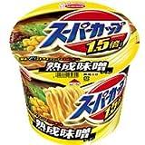 スーパーカップ 1.5倍 味噌ラーメン /エースコック  137G 1個