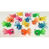 やわらかミニ金魚すくい やわらか出目金魚すくい【100個】(スーパーボールすくい 金魚すくい)