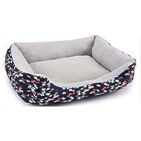 柔らかい 滑り止め 犬 ベッド, 持続可能です カラフル パッド ペット クッション, 猫 犬 家, キャンバス フランネル-I M