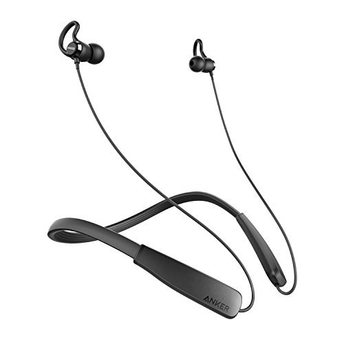 Anker SoundBuds Lite (ネックバンド型Bluetoothイヤホン)【12時間の連続通話 / IPX5防水規格 / マイク内蔵】(ブラック)