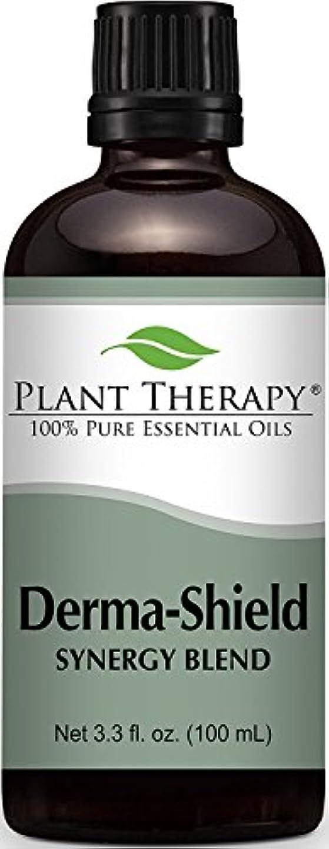 自動化不振発音するDerma-Shield Synergy Essential Oil Blend. 100 ml (3.3 oz). 100% Pure, Undiluted, Therapeutic Grade. (Blend of:...